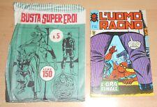 ED.CORNO SERIE  L'UOMO RAGNO  N° 221 1978  CON BUSTA ORIGINALE APERTA N° 5 !!!!!