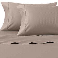 Wamsutta King Size Pillowcases 625 TC Pima Cotton (Set Of 2) Diamond Taupe