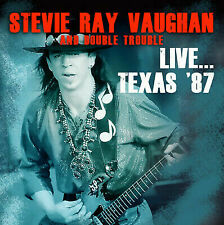 Stevie Ray Vaughan and double trouble Live Texas 87 2015 2 CD new roxvox