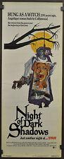Night Of Dark Shadows 1971 O 00004000 Riginal Movie Poster 14X36 David Selby Grayson Hall