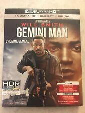 Gemini Man 4K Ultra HD & Blu-Ray w Slipcover Canada NO DC LOOK