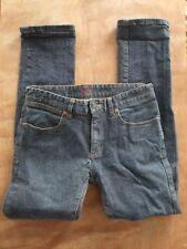 Men's size 28 KREW $$ skinny stretch Blue jeans
