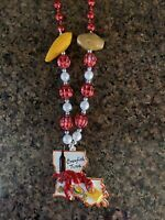 """CRAWFISH BOIL""  NEW ORLEANS/LOUISIANA SPECIALTY MARDI GRAS BEADS!"