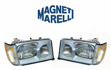 New! Mercedes Set of Left and Right Headlights Marelli LUS4702 LUS4701