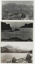VINTAGE CALIFORNIA DESERT REAL PHOTO PICTURE POSTCARD RPPC GROUP