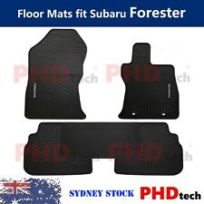 Premium Quality All Weather Rubber Car Floor Mats for Subaru Forester 2018-2020