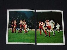 225-226 C3 1979 MÖNCHENGLADBACH-BELGRADE FOOTBALL BENJAMIN EUROPE 1980 PANINI