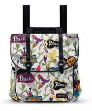 NWT Sakroots Convertible Backpack Crossbody Bag Optic Peace 3 Ways SHIP INTL