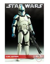 "SDCC 10 Star Wars Militaries Clone Lieutenant 12"" Figure Sideshow"