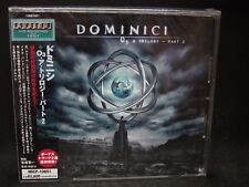 DOMINICI O3 A Trilogy - Part 2 + 2 JAPAN CD Dream Theater Majesty US Prog Metal