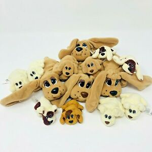 VTG 1995 POUND PUPPIES Plush Lot 16 Stuffed Animals Dogs Large Mini