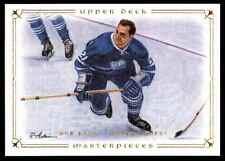 2008-09 Upper Deck Masterpieces Bob Baun #52