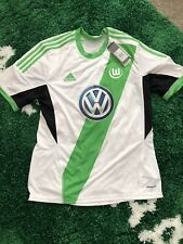 New With Tags VfL Wolfsburg  Jersey 2013 2014 Home L Shirt Adidas