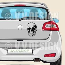 Totenkopf Autoaufkleber | 10 x 15cm | 28 Farben | Skull Aufkleber Schädel 112-S