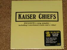 Kaiser Chiefs Exclusive Best Buy CD Single! US ONLY! 2 Live Songs + RUBY Video