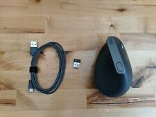 Logitech MX Vertical Mouse with cable and USB plug