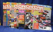 Car Craft Magazine 1988 October thru Jan 1990 Lot of 13 various issues