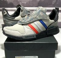 Adidas Micropacer R1 NMD Men's Camo Silver Red Blue Black Boost G27934 Size 8