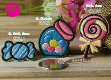 Sew on & iron on  patches(candy set)