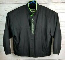 Arcticwear By Arctic Cat Full Zip Snowmobile Fleece Lined Jacket Size XL Black