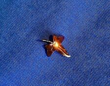 REAL LEAF JEWELLERY John Griffin COPPER PLATED MINIATURE IVY LEAF BROOCH.