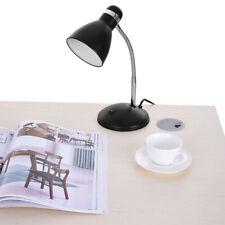 Led Metal Desk Lamp Adjustable Goose Neck Table Lamp Eye-Caring Study Lamps