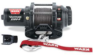 Warn UTV Vantage 2000S Winch wMount John Deere Gator XUV 825i S4 13-16