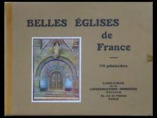 BELLES EGLISES DE FRANCE - 1930 - ARMENTIERES, WATTRELOS, FARGNIERS, TERGNIER