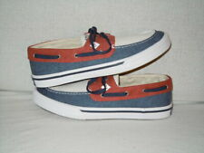 Sperry Bahama II Boat RWB STS17398 Men's Size 9 M  Red, White, AND BLUE