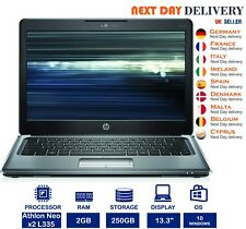 HP Pavilion dm3 13.3-inch Laptop AMD Athlon 1.6Ghz 2GB RAM 250GB HDD Windows 10