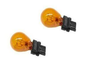 BMW E39 E60 E65 E53 Front Turn Signal Bulb Yellow X2 Blinker Lamp Bulbs