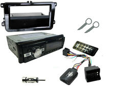 Vw golf MK5 03-09 bluetooth voiture stereo head unit radio + commande de direction support