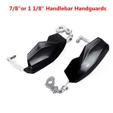 "Pair 7/8"" Motorcycle Motocross Handlebar Handguards Hand Guards Bar End Protect"