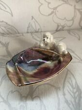 More details for beautiful vintage oldcourt ware poodle  pin dish/collectible dog ornament