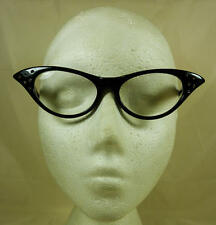 Black Frame Clear Lense Nerd Geek Dame Edna Secretary Glasses 50'S Fancy Dress