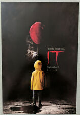 Stephen King's IT 2017 poster 11.75x17 horror Pennywise