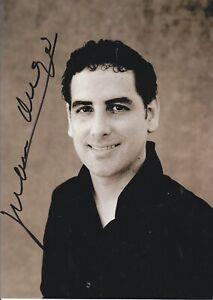 AUTOGRAPHED PHOTO OF OPERA SINGER Juan Diego Florez tenor