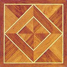 Wood Vinyl Floor Tile 40 Pcs Self Adhesive Flooring - Actual 12'' x 12''