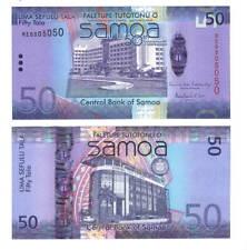 UNC SAMOA 50 Tala (2012) ND P-44 Commemorative Radar Hybrid Banknote Paper Money
