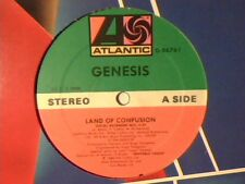 "GENESIS Land of confusion 12"" USA COME NUOVO LIKE NEW!!!"