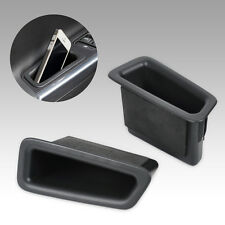 Black Car Front door Storage Stowing Tidying Box For VOLVO S60 V60 2010-2015