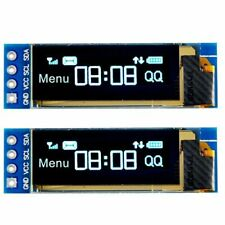 "2pcs I2C OLED Display Module 0.91"" I2C SSD1306 OLED Display Module for Arduino"
