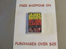 SEALED JAMES BROWN 70'S FUNK CLASSICS CASSETTE
