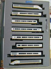 Kato N-scale 8-unit Eurostar Passenger Train Set 10-327