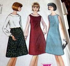*LOVELY VTG 1960s DRESS  BLOUSE SKIRT McCALLS Sewing Pattern 14/34