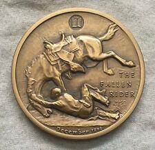 "MACO. Frederic Remington ""The Fallen Rider"" Medal, 1971"