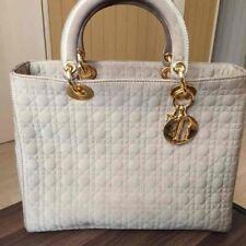 Dior Lady Dior Handbag WHITE