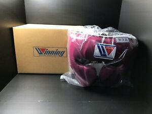 Winning Boxing Head guard, headgear Dark pink L from JAPAN FedEx With tracking
