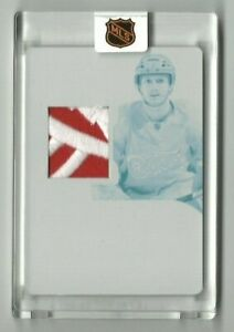2011-12 Panini Dominion Gustav Nyquist Printing Plate/Patch/RC #1/1!!