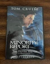 Minority Report (Dvd, 2003) Free Shipping